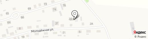 Магазин автотоваров на карте Красного Яра