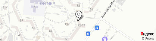 Марс на карте Темиртау
