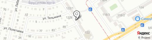 Астык на карте Темиртау