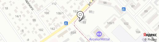 Анна на карте Темиртау