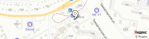 Конфетка на карте Темиртау