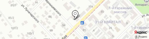 Памятники на карте Темиртау
