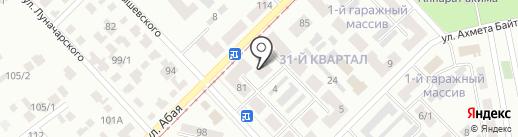 Color на карте Темиртау