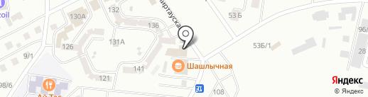 Ангел на карте Темиртау
