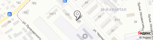 Эконом класс на карте Темиртау