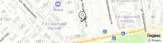 Вымпел, ТОО на карте Темиртау