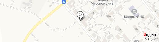 Гастроном на карте Актаса