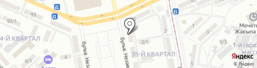 Аквариум на карте Темиртау