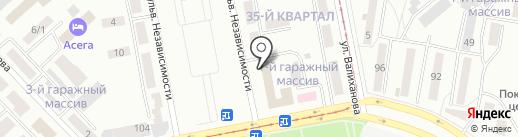 La prima на карте Темиртау