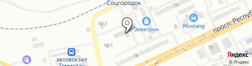 Бриз на карте Темиртау