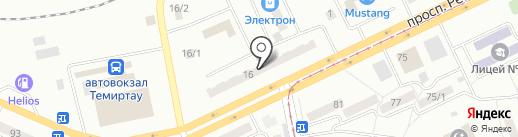 Вика на карте Темиртау