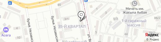 Руслан, ТОО на карте Темиртау