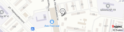 Торговый павильон на карте Темиртау