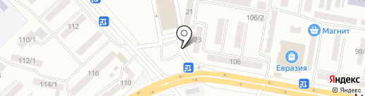 Amelia на карте Темиртау