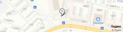 Лотос на карте Темиртау