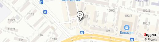 Седьмое небо на карте Темиртау