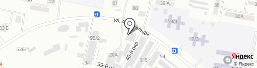 Жетысу на карте Темиртау