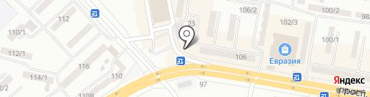 Коммеск-Өмір на карте Темиртау
