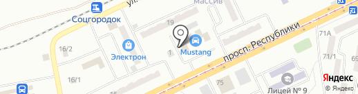 Tyre service на карте Темиртау