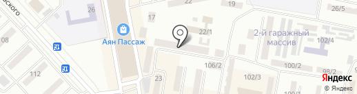 Институт развития электроэнергетики и энергосбережения, АО на карте Темиртау