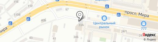 Гулеке на карте Темиртау