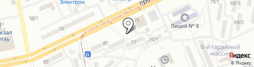 Эталон на карте Темиртау