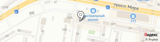 Весна на карте Темиртау