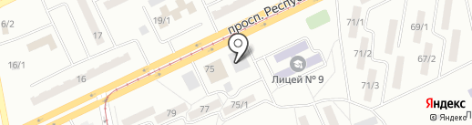 Юридический кабинет Суворовой Е.В. на карте Темиртау