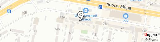 Микки-маус на карте Темиртау