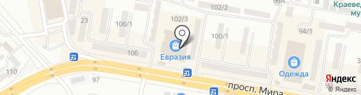 Кокетка на карте Темиртау