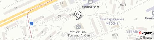 Киоск религиозных товаров на карте Темиртау