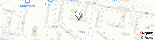 Хороший на карте Темиртау