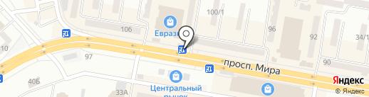 Планета GSM на карте Темиртау