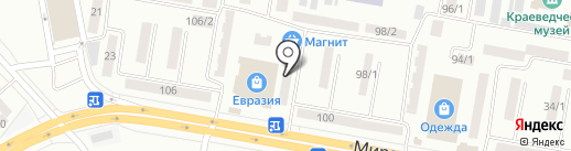 Konica на карте Темиртау
