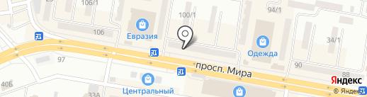 Topaz Gold, ТОО на карте Темиртау