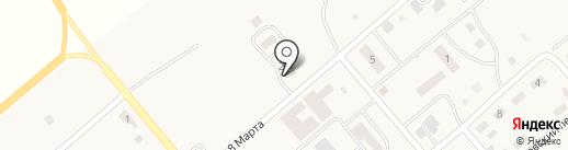 Қарағанды Су, ТОО на карте Актаса
