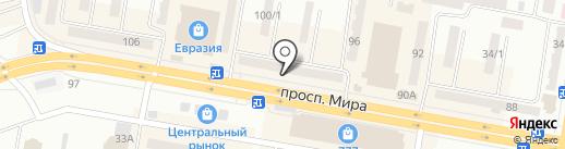 Temir Travel Company на карте Темиртау
