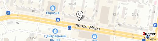 Арзан Рахмет на карте Темиртау