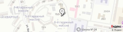 embawood на карте Темиртау