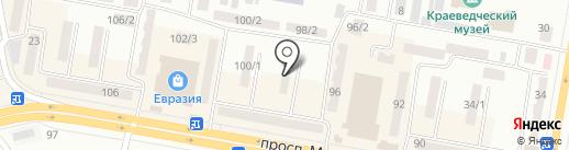Алмаз на карте Темиртау