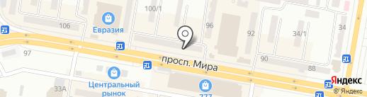 Леди на карте Темиртау