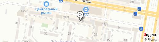 Интерьер на карте Темиртау