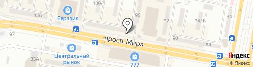Golden centre на карте Темиртау