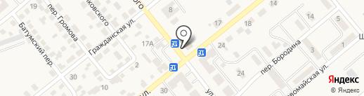 Платежный терминал, Kaspi bank на карте Актаса