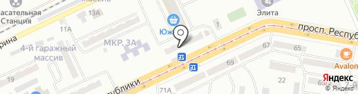 Seric и V, ТОО на карте Темиртау