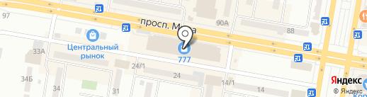 Флора-дизайн на карте Темиртау