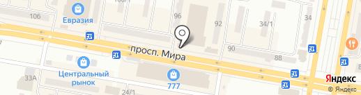 NewYorker на карте Темиртау