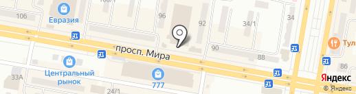 Снежная королева! на карте Темиртау