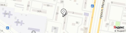 Досжан на карте Темиртау