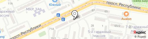 Асыл Арман на карте Темиртау